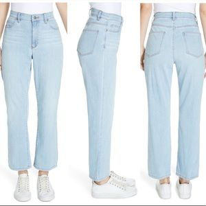 Eileen Fisher High Waist Ankle Bootcut Jeans 12P